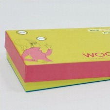 Luxory cardboard box with separate lid